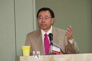Moderator Stewart Kwoh.
